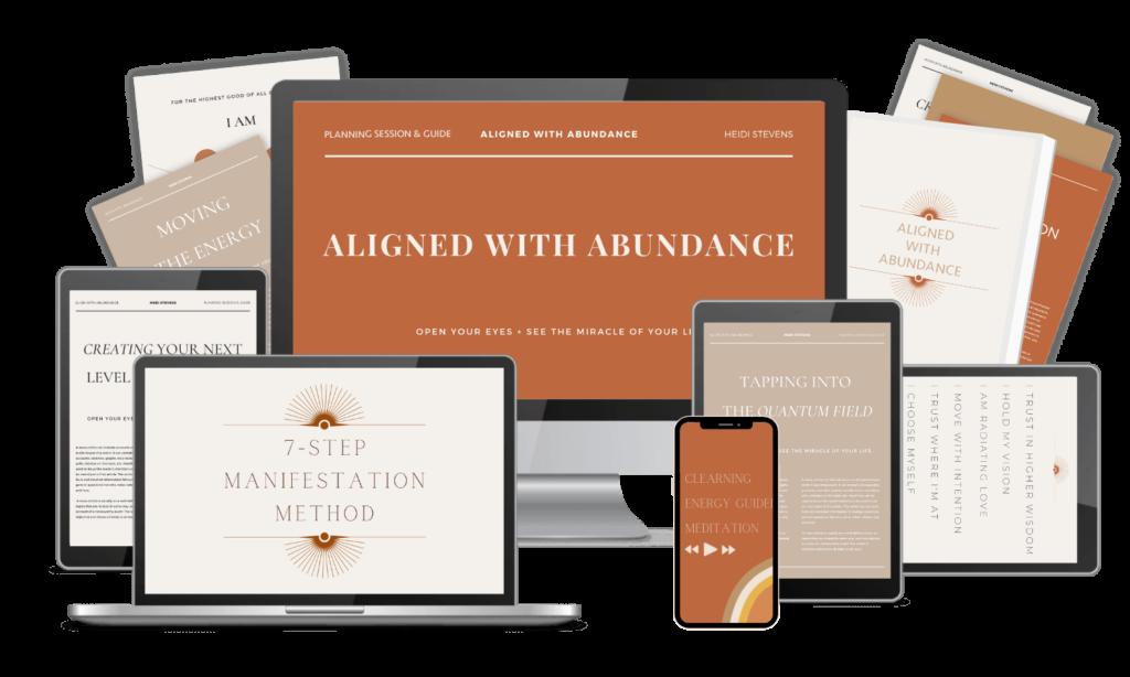aligned with abundance